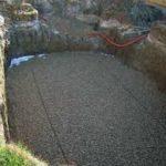 Tapis de sol géotextile 100% synthétique - Piscine creusée