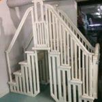 escalier de luxe pour piscine hors terre