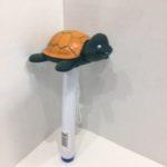 Thermomètre flottant avec figurine de tortue